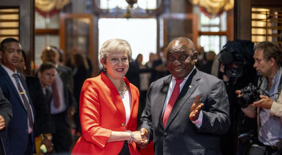 Theresa May, Africa, Somtribune