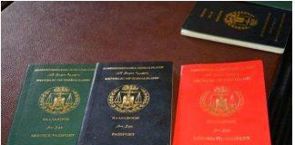 Somaliland passport