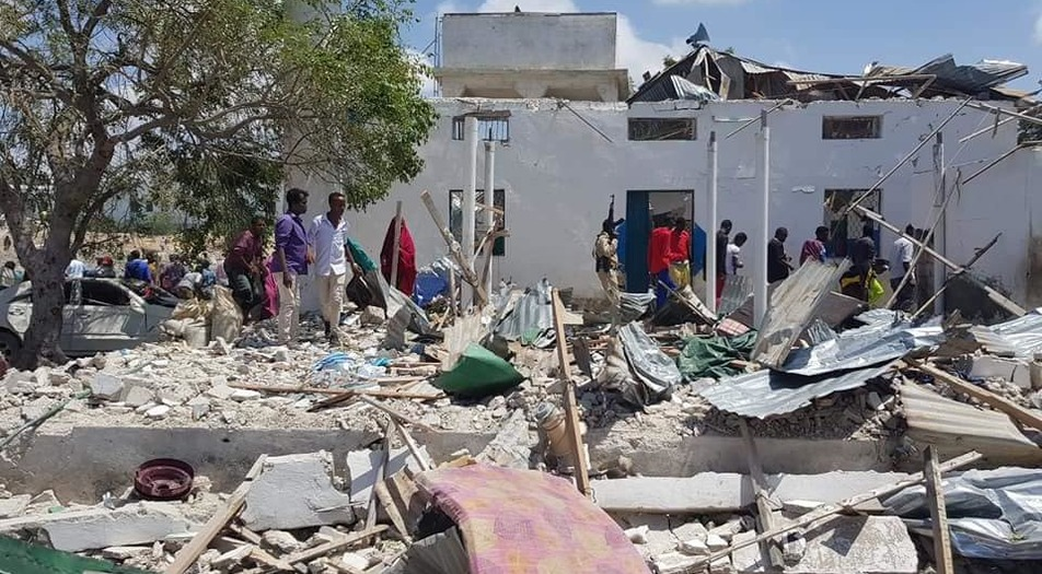 Mogadishu, Somalia, Hawlwadaag blast of Al Shabab