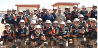 African military force